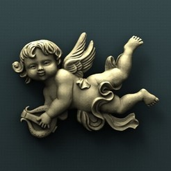 Free 3D printer designs Angel, stl3dmodel