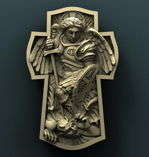 Archangel_Michael.jpg Télécharger fichier STL gratuit Archange Michel • Plan à imprimer en 3D, stl3dmodel