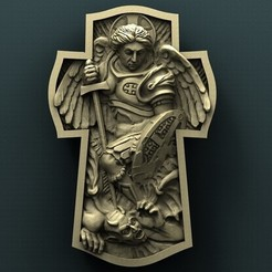 Download free 3D model Archangel Michael, stl3dmodel