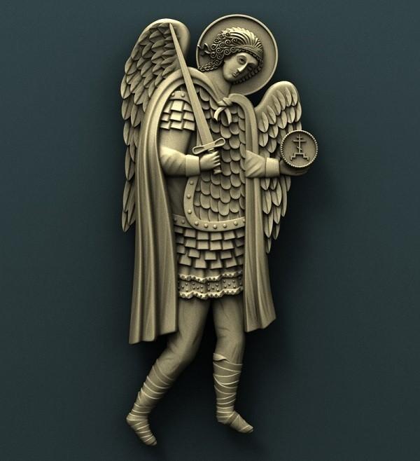 2.jpg Download free STL file Archangel Gabriel and Archangel Michael • 3D printing model, stl3dmodel