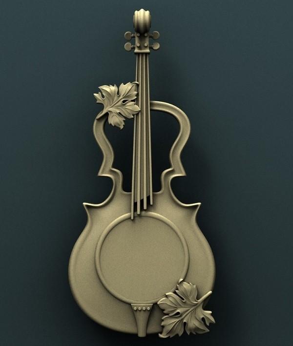 939. Panno.jpg Download free STL file Violin • 3D print design, stl3dmodel