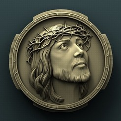 3d printer model Jesus, Agorbar