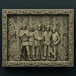 Free 3D printer files Robin Hood, stl3dmodel