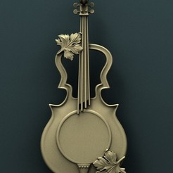 Download free STL file Violin • 3D print design, stl3dmodel