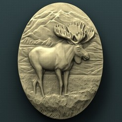 Download free 3D printer files Elk, stl3dmodel
