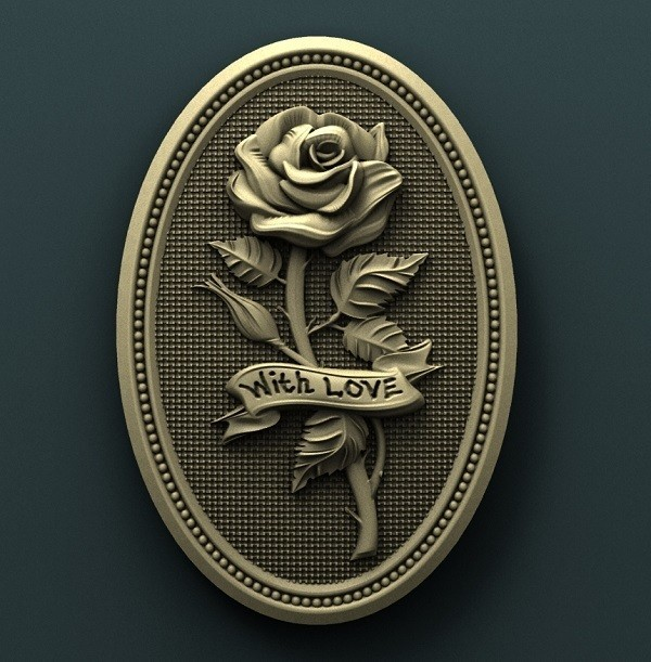 927. Panno.jpg Download free STL file Roses • Model to 3D print, stl3dmodel