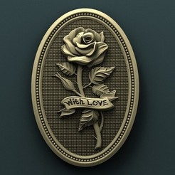 Download free 3D print files Roses, stl3dmodel