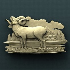 Download free 3D printing models Ram, stl3dmodel