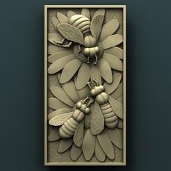 Download free STL file Bees, stl3dmodel