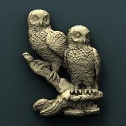 3d printer model Owl, Agorbar