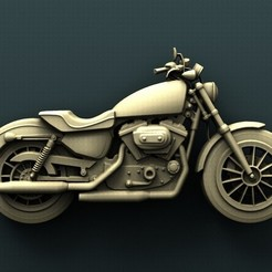 Download free 3D printer designs Motorcycle, stl3dmodel