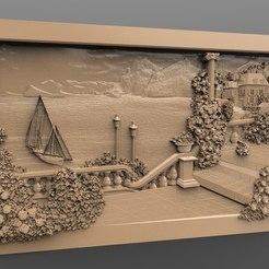 Descargar archivos 3D gratis barco isla del lago italia cnc router, stl3dmodel