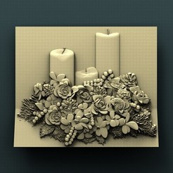 Download free 3D printing files Candles, stl3dmodel