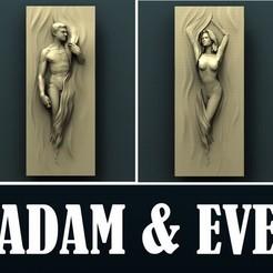 3d print files Adam and Eve, Agorbar