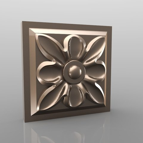 Download free 3D printer designs Vintage mouldings for old classic apartments cnc art router machine 3D printed, stl3dmodel