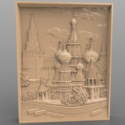 Download free 3D printer files Moscow architecture cnc art , stl3dmodel
