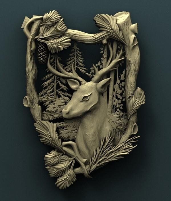 1.jpg Download free STL file Deer • Model to 3D print, stl3dmodel