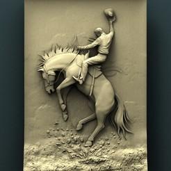 stl files Cowboy, Agorbar