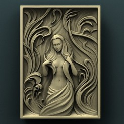 Download free 3D printing templates Woman, stl3dmodel