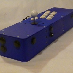 Descargar archivo 3D Arcade con joystick / pinball, neo4700