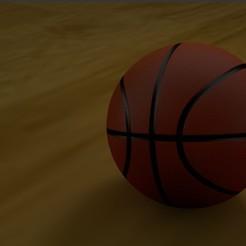 Download STL file Basketball, Shai3