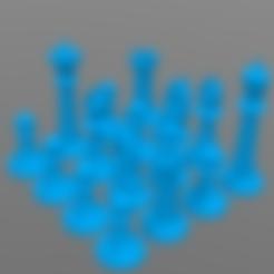 Descargar archivo 3D gratis Ajedrez, barek01