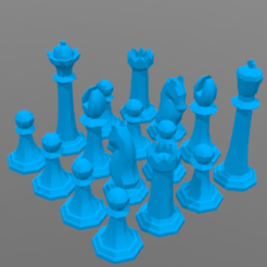 Download free 3D print files Chess game, barek01