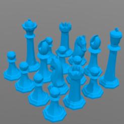 Free 3D model Chess game, barek01