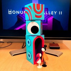 Free 3D print files Doortem - A friend from Monument Valley 2, AliG3D