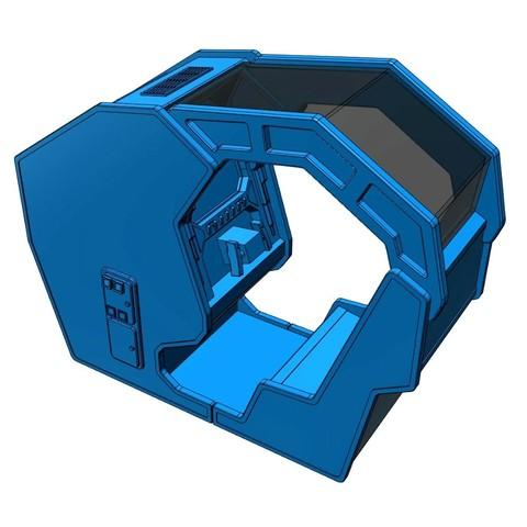 starwars6.jpg Download free STL file Atari Star Wars arcade cockpit cabinet • 3D printable model, AliG3D