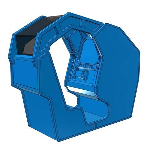 starwars5.jpg Download free STL file Atari Star Wars arcade cockpit cabinet • 3D printable model, AliG3D