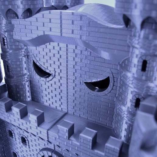 fullsizeoutput_344.jpeg Download free STL file Castle Dedede - Amiibo Prop • 3D printable object, ChrisBobo
