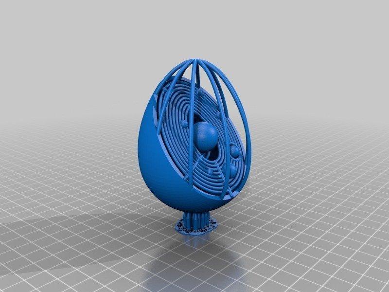 a87fa702d1f43821aed59cd6a84df512_display_large.jpg Télécharger fichier STL gratuit Collection d'œufs de Pâques en résine • Plan pour imprimante 3D, ChrisBobo