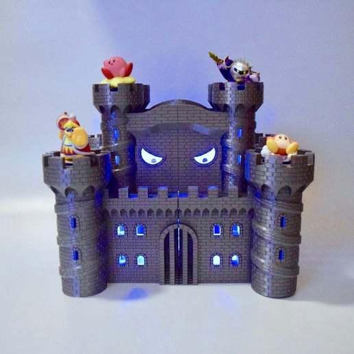 fullsizeoutput_34b.jpeg Download free STL file Castle Dedede - Amiibo Prop • 3D printable object, ChrisBobo