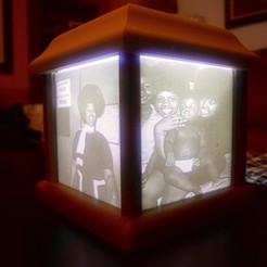 Free 3D file Lithophane Box, ChrisBobo