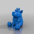 Télécharger plan imprimante 3D gatuit Banque Princesse Lamb, ChrisBobo