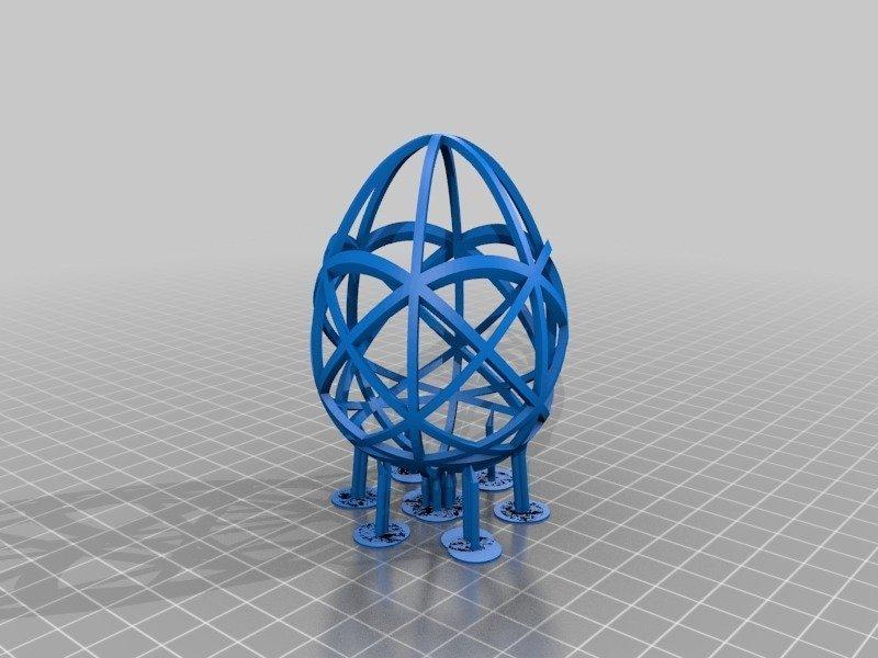 79780e9f0b217d6f768486e353757ae4_display_large.jpg Télécharger fichier STL gratuit Collection d'œufs de Pâques en résine • Plan pour imprimante 3D, ChrisBobo
