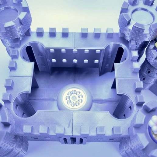 fullsizeoutput_348.jpeg Download free STL file Castle Dedede - Amiibo Prop • 3D printable object, ChrisBobo