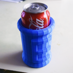Download free STL file E-tank Koozie V2 • Design to 3D print, ChrisBobo