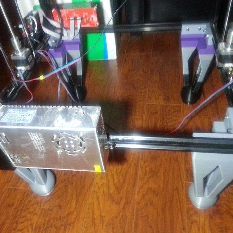 Download free 3D printing designs Tronxy X5S Legs, ChrisBobo
