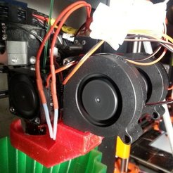 Download free STL files Wanhao Dual Fan Duct 2, ChrisBobo