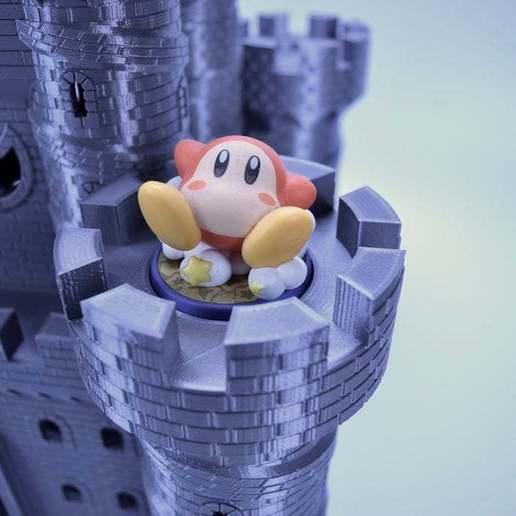 fullsizeoutput_345.jpeg Download free STL file Castle Dedede - Amiibo Prop • 3D printable object, ChrisBobo