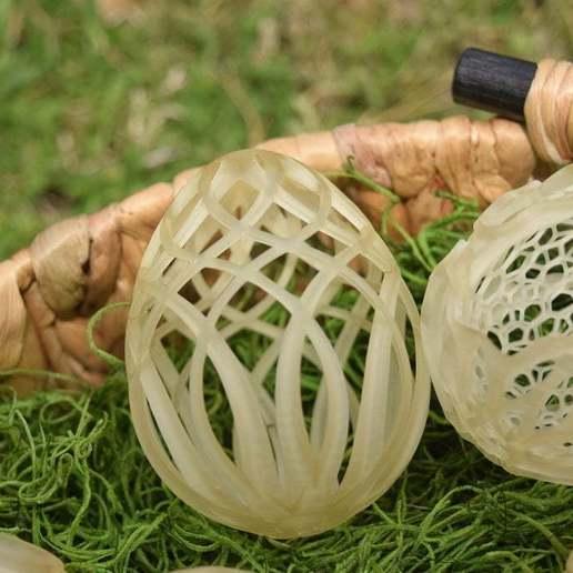 DSC_0069.JPG Télécharger fichier STL gratuit Collection d'œufs de Pâques en résine 2 • Plan à imprimer en 3D, ChrisBobo