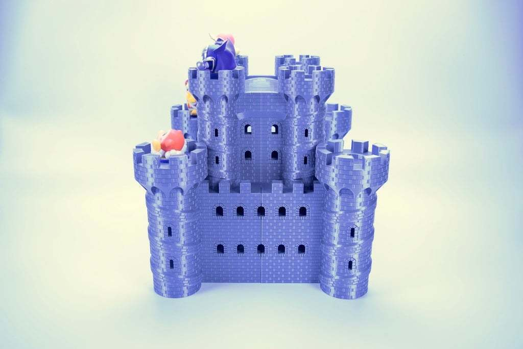fullsizeoutput_33f.jpeg Download free STL file Castle Dedede - Amiibo Prop • 3D printable object, ChrisBobo