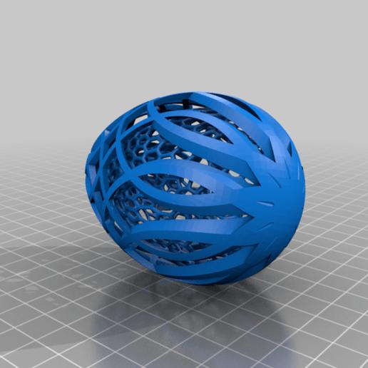 Easter_Egg_3-2020.png Télécharger fichier STL gratuit Collection d'œufs de Pâques en résine 2 • Plan à imprimer en 3D, ChrisBobo