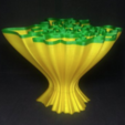 Free 3D printer files Wavey Coral Vase, ChrisBobo