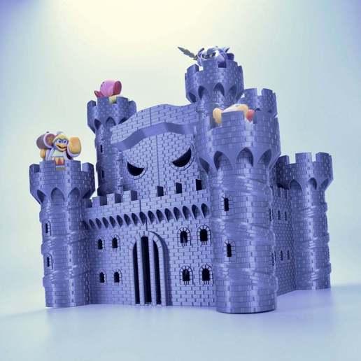 Télécharger fichier 3D gratuit Château de Dedede - Amiibo Prop, ChrisBobo