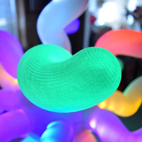 Capture d'écran 2017-09-20 à 09.43.36.png Download free STL file Amoeba LED Lamp-V1 • 3D printing template, ChrisBobo