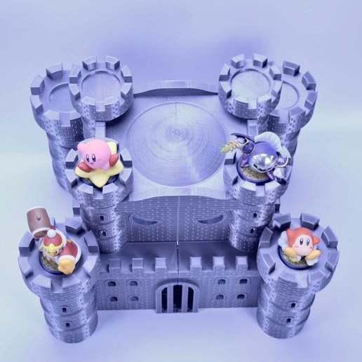 fullsizeoutput_34f.jpeg Download free STL file Castle Dedede - Amiibo Prop • 3D printable object, ChrisBobo