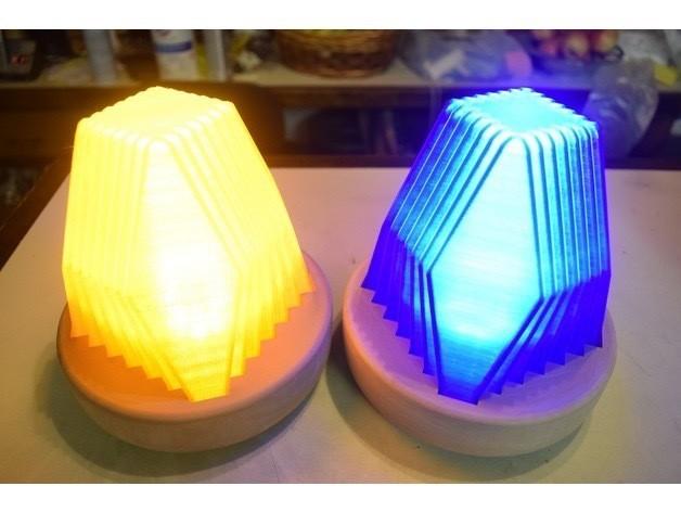 IMG_0096.jpg Download free STL file Fractal Led Lamp • 3D printer object, ChrisBobo